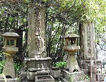 武島神社の石碑群